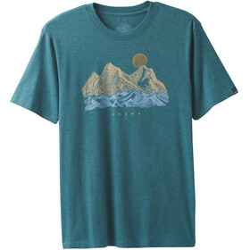Prana Coronado Kortærmet T-shirt Herrer blå